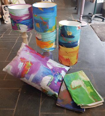 abstract colour range