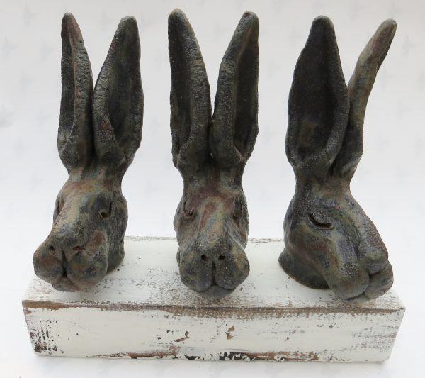 hares, ceramic, studio pottery, handmade, jane adams ceramics, cornwll