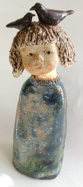 ceramic child, ceramics people, jane adams ceramics