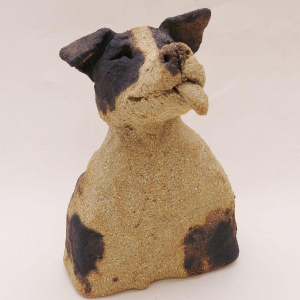 ceramic dogs, jane adams ceramics, rogues gallery