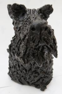 Scottie dog Scottish Terrier, handmade stoneware, jane adams ceramics