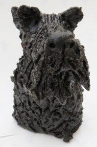 Scottie dog Scottish Terrier, handmade stoneware, jane adams ceramics