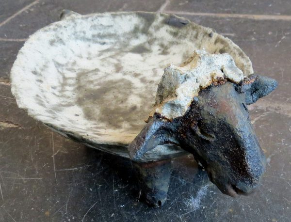 ceramic sheep, sheep dish, jane adams ceramics