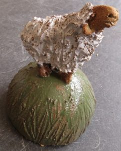 ceramic sheep, sound of music, jane adams ceramics