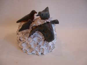 white sheep, ceramic sheep, handmade stoneware