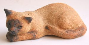 siamese cat, jane adams ceramics, pottery cat, ceramic cat, stoneware