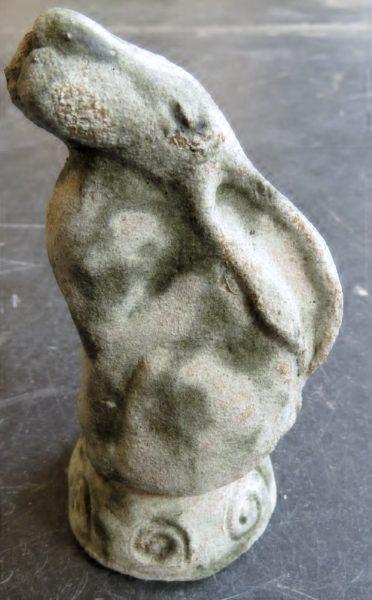 moongazer, hare, celtic, handmade, ceramics, jane adams ceramics