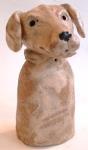 dog, pottery dog, ceramic, labrador, jane adams ceramics