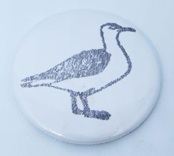pawprint designs, seagull. fridgemagnet, jane adams. magnet
