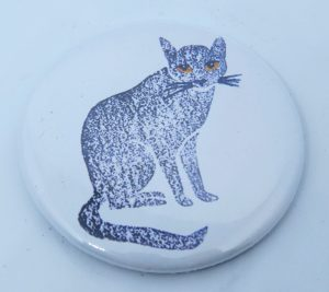 fridge magnet, magnets, cat fridge magnets, cat magnets, cat gifts, cat themed gifts, jane adams, pawprint designs