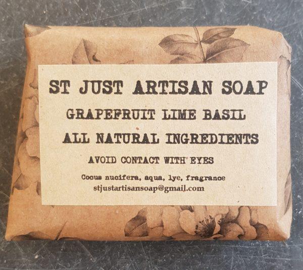 organic soap, organic, soap, handmade soap, crueltyfree, grapefruit soap, lime and basil soap,