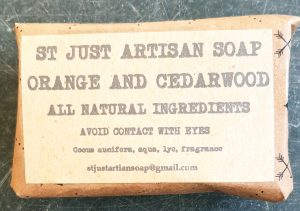 organic soap, handmade soap, organic, soap, orange, cedarwood, cruelty free