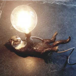 OTTERS, ceramic otters, lamp, otter lamp base, vintage lamps, ceramics lamps, handmade studio pottery lamp bases, jane adams ceramics, ceramic otters