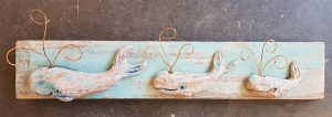 whales, blue whales, wall plaque, pottery whales, whale ornaments, jane adams ceramics, stoneware, studio pottery