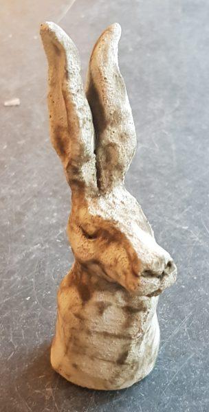ceramic hare, hares, ceramic hares, handmade hares, handmade ceramic hare, stoneware hare, pottery hare, clay hare, hare ornaments, jane adams ceramics