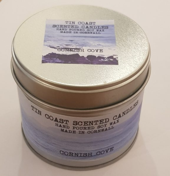 candle, candles, tin coast, candles in tins, handmade candles, soy wax, cornwall, made in cornwall
