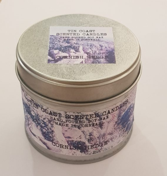 candle, candles, hand made candles, soy wax, hand puored, tins, tin coast, cornwall, made in cornwall,