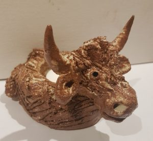 candle holder, tealight holder, candle pot, highland cow, ceramic tealight holder, candle sticks, jane adams ceramics