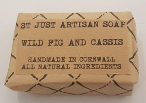 soap, handmade soap, vegan soap, wild fig, cassis, coconut oil, organis soap, st just artisan soap