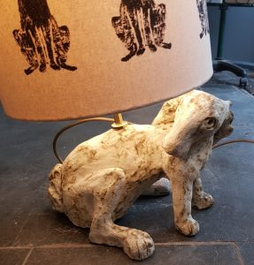 lamp base, ceramic lamp, ceramic lamp base, novelty lamp base, hare lamps, hare, arctic hare, hare lights, ceramic hares, jane adams ceramics, cornwall, handmade lamps, studio pottery lamps cornwall